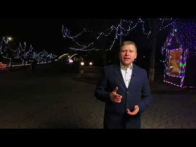 Вбудована мініатюра для Привітання голови Іршавської РДА Віктора Товстого з Новим роком та Різдвом Христовим!